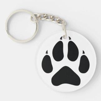 Furry Fandom Key Ring
