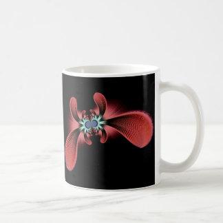 furry fractal space creature coffee mug