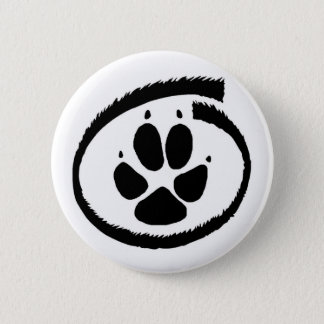 Furry Inside (Fox Paw) Badge