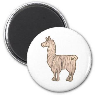 Furry Llama Magnet