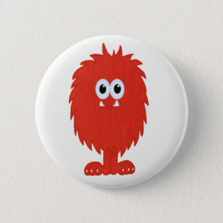 Furry Monster Button