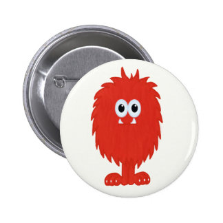 Furry Monster Button