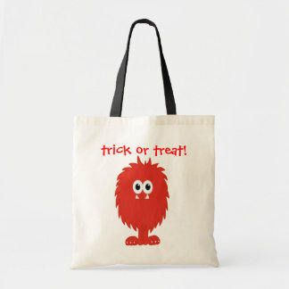 Furry Monster Tote Bag