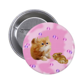 Furry Pet Lover Button
