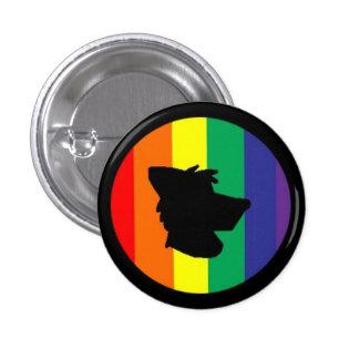 Furry Pride 3 Cm Round Badge