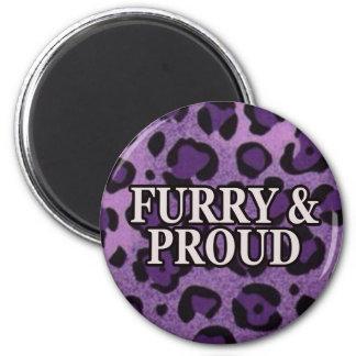 Furry & Proud Magnet Leo Version