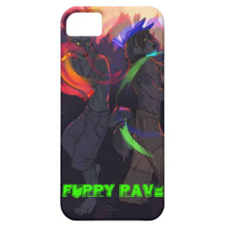Furry Rave Iphone Case Barely There iPhone 5 Case