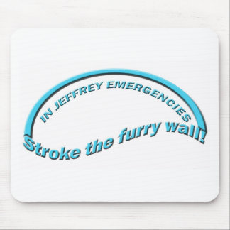 Furry Wall Mouse Mat