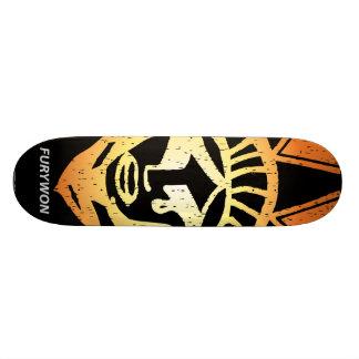 fury-zazzledesign1 skate board decks