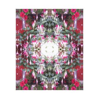 Fuschia 1 Fractal Canvas Print