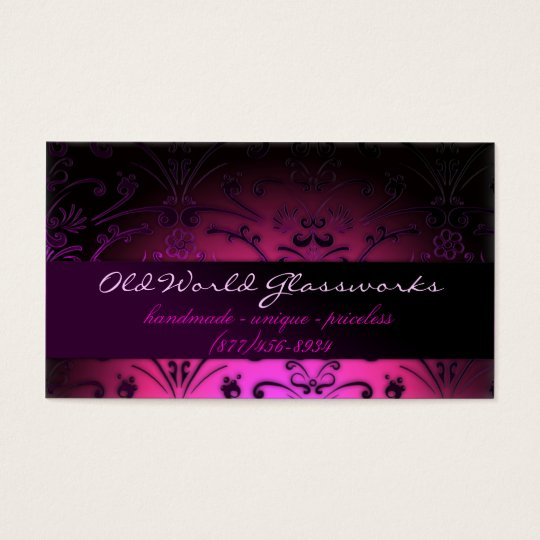 Fuschia Dreams Business Card