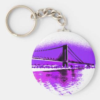 Fuschia Narrows Bridge keychain