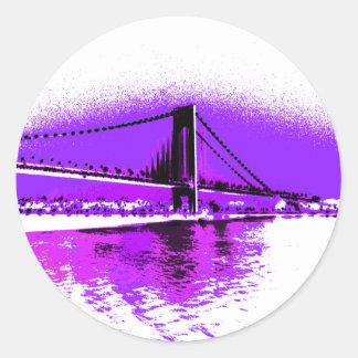 Fuschia Narrows Bridge sticker