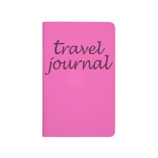 Fuschia  Travel Pocket Journal Notebook