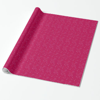Fuschia wrapping paper