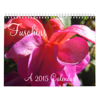 Fuschias 2015 II Calendar
