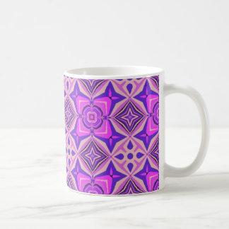 Fuscia Qulit 2 Basic White Mug