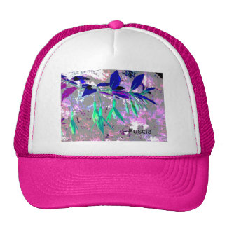 Fuscia Trucker Hat
