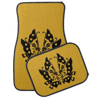 Fusen-style butterlfy car mat
