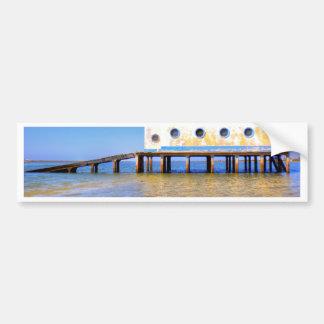 Fuseta beach bumper sticker