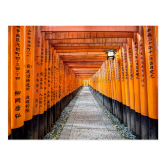Fushimi Inari Shrine, Kyoto Postcard