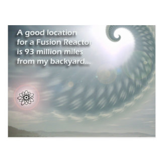 Fusion Reactor Location... postcard