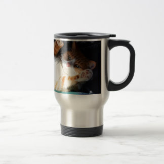 Fuss Me Please Pumpkin. Travel Mug