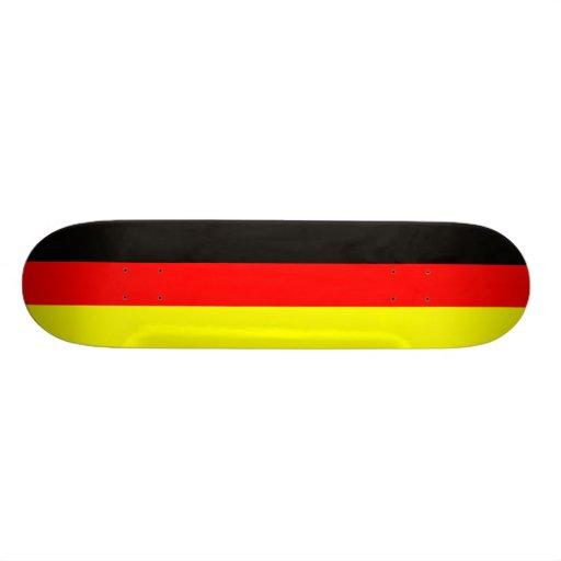 fussball deutschland flagge schwarz rot gold bedruckte skateboarddecks zazzle. Black Bedroom Furniture Sets. Home Design Ideas