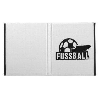 Fussball Soccer shoe ball iPad Folio Cases