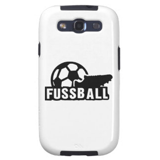 Fussball Soccer shoe ball Samsung Galaxy SIII Case