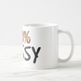 Fussy 100 Percent Basic White Mug