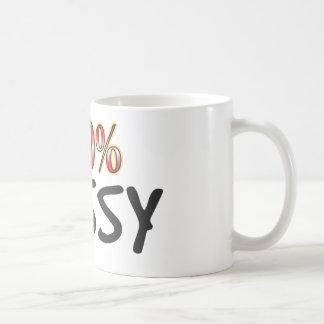 Fussy 100 Percent Coffee Mug