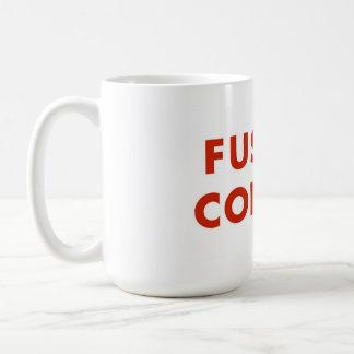 Fussy Coffee Basic White Mug