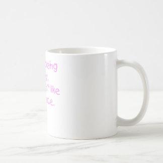 Fussy Face Girl Mug