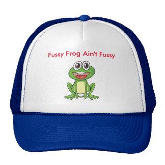 Fussy Frog Ain't Fussy Hat