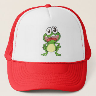 Fussy Frog Cap