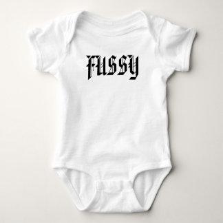FUSSY INFANT CREEPER