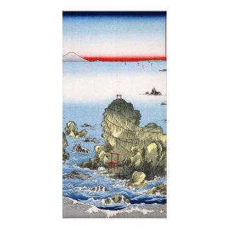 Futamigaura in Ise Province Photo Greeting Card