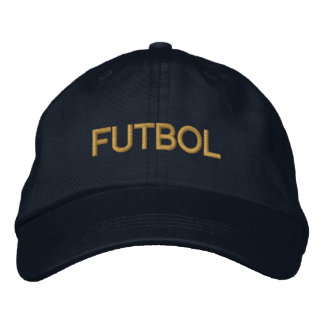 FUTBOL cap for soccer futbol mad fans worldwide Embroidered Baseball Caps