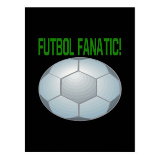 Futbol Fanatic Postcard