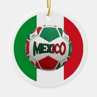 FUTBOL MEXICO CHRISTMAS ORNAMENT