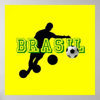 Futebol - Bend it like a Brazilian Posters