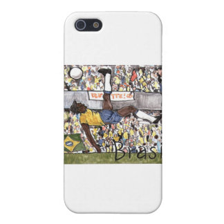 Futebol do Brasil iPhone 5 Cover