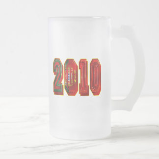 Futebol Português 2010 Frosted Glass Mug