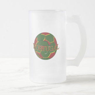 Futebol Português - Bola nos Cores Portugueses Mug