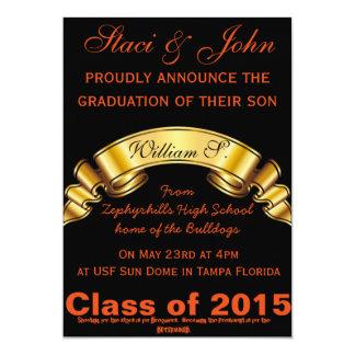 "Futrue President Graduation 5"" X 7"" Invitation Card"