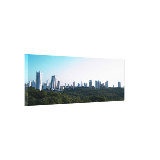 Futurama - Cuiabá of the Future Stretched Canvas Prints