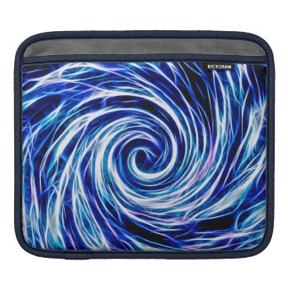 Future Abstract -BL- iPad pad Horizontal iPad Sleeves