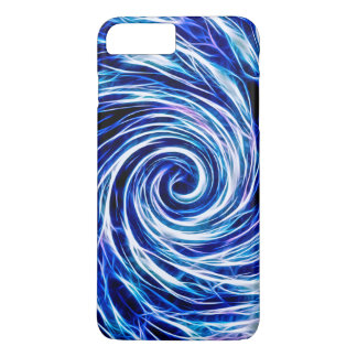Future Abstract Vivid BL- iPhone 7 Plus, Barely iPhone 7 Plus Case