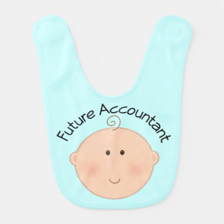 Future Accountant Baby Bib